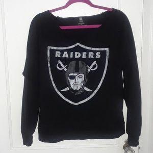 Raiders low neck sweater